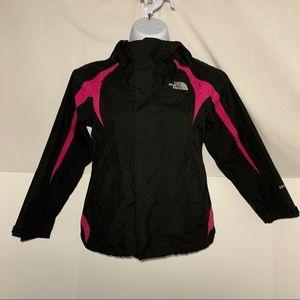 North Face Kids Girls HyVent Rain Jacket Coat XS